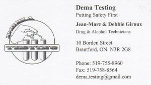 DEMA Testing