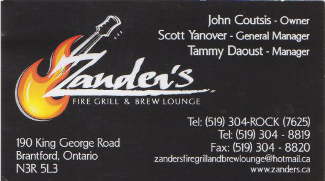 Zanders Fire Grill and Brew Lounge